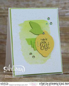 Lemon Or Lime? You Choose! | StampinByTheSea.com | Bloglovin'