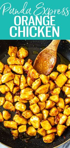 This Panda Express Orange Chicken consists of crispy chicken tossed in a sweet and spicy orange sauce. It's super easy to make at home! #pandaexpress #orangechicken Panda Express Orange Chicken, Winner Winner Chicken Dinner, Crispy Chicken, Sweet And Spicy, Sweet Potato, Chicken Recipes, Vegan Recipes, Vegetables, Cooking