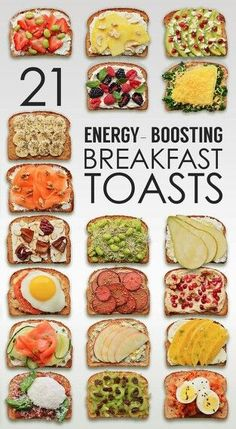 Energy Boosting Toasts