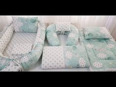 Baby Boy Rooms, Baby Cribs, Baby Nest Pattern, Baby Nest Bed, Breastfeeding Pillow, Baby Cocoon, Baby Sewing Projects, Baby Cover, Baby Pillows