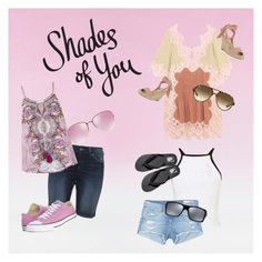 """Shades of You: Sunglass Hut Contest Entry"" by laracockrill on Polyvore featuring Chloé, Ray-Ban, Silver Jeans Co., Monsoon, Miu Miu, Miss Selfridge, rag & bone/JEAN, Oakley, Loeffler Randall and Vans"