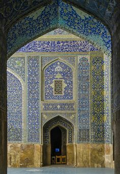 Shah Mosque, Isfahan, Iran By really_fast From specialformytaste.tumblr.com