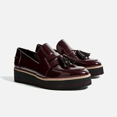 Image 4 of FLATFORM LOAFERS from Zara