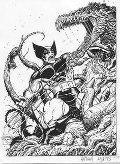 Wolverine by Art Adams