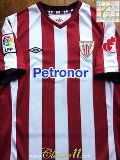 d047f6abf6874 2012 13 Athletic Bilbao Home La Liga Football Shirt (B)
