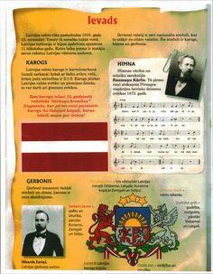 Latvia: Levads; National Anthem; Latvian Flag
