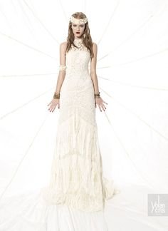 YolanCris | Vestidos de novia hippies y tribal chic 2015