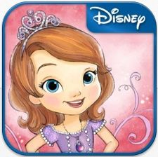 Sofia the First: Story Theatre App. My kids love this app. Reads the story, it's interactive and the puppet theatre component has encouraged them to make up their own creative stories which they can record and play back.