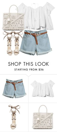 """""""Untitled#4400"""" by fashionnfacts ❤ liked on Polyvore featuring Stone_Cold_Fox, Steve Madden and Yves Saint Laurent"""