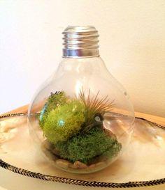 ideas para reciclar bombillas de luz 4
