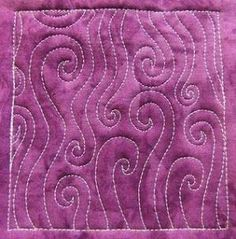 Free motion quilting by mamie