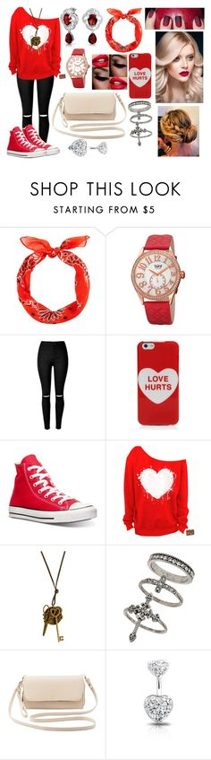 """""""Untitled #897"""" by livvy-horan ❤ liked on Polyvore featuring New Look, bürgi, Marc Jacobs, Converse, Miss Selfridge, Charlotte Russe and Bling Jewelry"""
