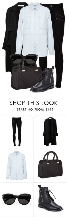"""Untitled #1906"" by annielizjung ❤ liked on Polyvore featuring Paige Denim, A.L.C., Whistles, Victoria Beckham and Yves Saint Laurent"