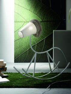 Yahoo by Karman   #design Matteo Ugolini #lamp #rockinghorse