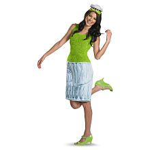 I want to dress up as Oscar for Halloween next year!  Sesame Street Oscar the Grouch Halloween Costume - Adult