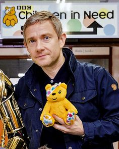 Martin - Children in Need special 2015 (How adorable!) <-- my heart can't take it! I'm dead.
