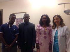 Kamerun'lu ekiple Afrika'da göz sağlığı konusunda neler yapabileceğimizi görüştük.  #Afrika #Africa #Kamerun #Cameroon #eyehealth #cataracts #cornealtransplant #eyecare