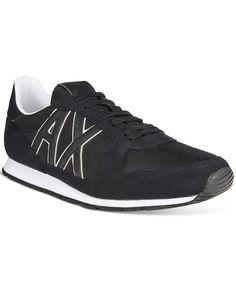 6a0ead1d41a1 Armani Exchange A X Men s AX Jogger Sneakers Men - All Men s Shoes - Macy s