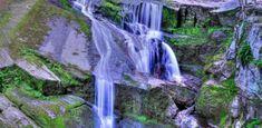 Gorgeous Nature Waterfall Rocks Small