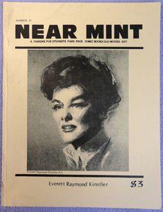 NEAR MINT #23 Pop Culture Nostalgia Fanzine Everett Raymond KINSTLER Hawkman Bettie Page Rocketeer John Giunta Lucifer Sky Wolf