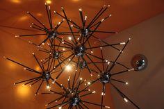 Molekül  LED Chandelier by Trevor O'Neil by Trevoroneil on Etsy, $2500.00