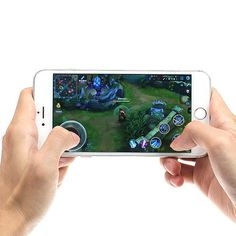 Mini Ultra Thin Touch Screen Mobile Phone Arcade Games Controller Joystick For A  | eBay