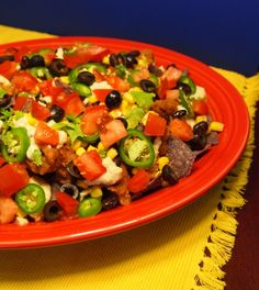 Loaded Nachos With Cashew Cheese #vegan #recipe #yummy #appetizer #mexican #superbowl