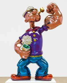Jeff Koons, Popeye, 2009-11 on ArtStack #jeff-koons #art