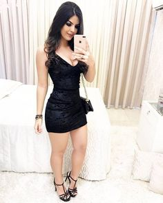Image may contain: 1 person Sexy Dresses, Cute Dresses, Short Dresses, Dress Up, Bodycon Dress, Girl Fashion, Fashion Outfits, Sexy Skirt, Ideias Fashion