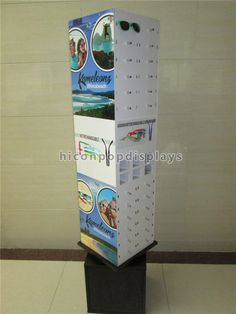 Commercial Eyewear Display Stand With Customer Logo
