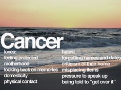 zodiac: cancer // although i find myself not really craving motherhood or domesticity