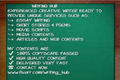 write 500 word short story or original article in 12 hours by writing_hub