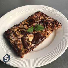 Opskrift: Morgenbanankage med fuldkorn Healthy Life, Healthy Living, Danish Dessert, Lchf, Frisk, Nachos, Cheddar, Macarons, Treats