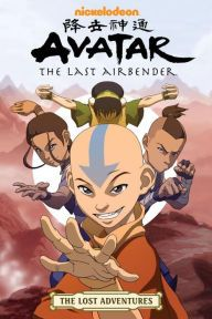Avatar: The Last Airbender: The Lost Adventures by Joaquim Dos Santos, Amy Kim Ganter, May Chan, Aaron Ehasz