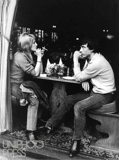 Catherine Deneuve e il fotografo ingleseDavid Bailey, 1965