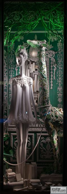Intense amounts of detail at Bergdorf. Holiday 2011