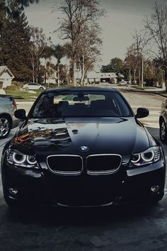 Chase's ride #BMW #black #boysandtheirtoys