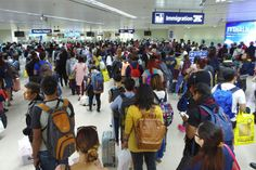Bureau of Immigration officers assigned at the Ninoy Aquino International Airport and other major ports are not allowed to go on leave before, during and after the Holy Week break to ensure that adequ Immigration Officer, Rodrigo Duterte, Migrant Worker, Lenten, Travel Abroad, Travel Essentials, Philippines, Manila, Filipino