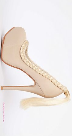 For all the horse people they put a tail on your shoe! Esther Calma