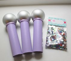 Microphone Craft Kit DIY Bling Microphone for Pop by prettimini Craft Kits For Kids, Crafts For Kids, Microphone Craft, Pop Star Party, Tulle Poms, Movie Night Party, Fabric Backdrop, Diy Kits, Diy And Crafts