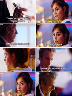 Doctor Who-Season 9- Quote by Clara and The Doctor