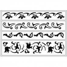 Pomôcky/Nástroje - šablóna ornamenty - 5964638_