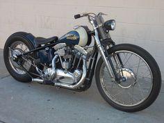 Harley Davidson old school bobber #motorcycle #motorbike #harleydavidsonchoppersoldschool #harleydavidsonbobbersoldschool