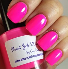 Fierce Makeup and Nails: Paint Job Nail Lacquer: Summer Fun Collection