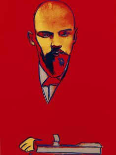 Warhol's portrait of the Russian political leader, Vladimir Lenin. Title: Red Lenin FS II403, 1987 Medium: Silkscreen print on Arches 88 paper Edition: Edition of 120. Signed and stamped on the reverse by Frederick Hughes, executor for Andy Warhol Estate For more information on this piece, please visit Revolver Gallery of Beverly Hills or give us a call at (310) 786-7417. #Warhol