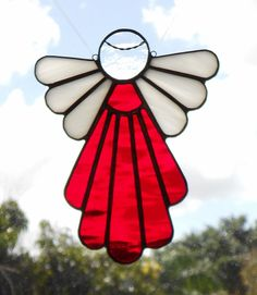 Stained Glass Angel by GlassPelican on Etsy.