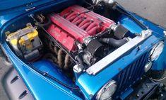 500hp viper/nv4500/atlas/dynatrac 60's build in progress. Matt K's pic from Jeep BC.