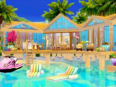 Amatheia is built on a 30 x 20 lot. Found in TSR Category 'Sims 4 Residential Lots' Lotes The Sims 4, Sims Four, Sims Cc, Discount Interior Doors, Sims 4 House Plans, Sims 4 House Design, Decoration For Ganpati, Casas The Sims 4, Free Sims