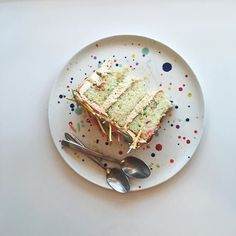 Pin for Later: This Insane Funfetti Cake Has Homemade Sprinkles Pricklier Than a Porcupine This is quite possibly the most birthday-worthy funfetti cake ever.