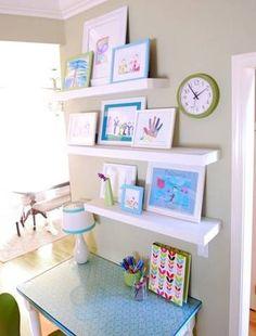 10 façons d'afficher les dessins de vos enfants - La cabane à idées